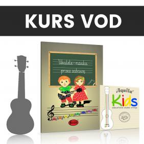 Pakiet z ukulele Korala,...